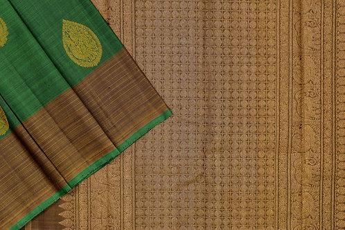 Sita mahalakshmi kanjivaram silk saree PSSM05SMLGAV201113