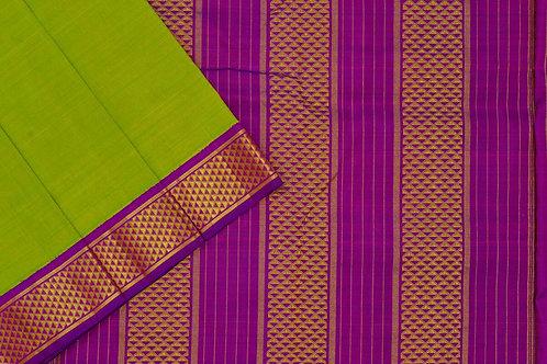 Nine yards silk saree SS1844
