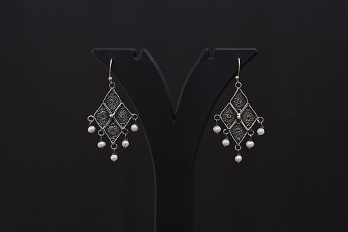 Lasya Silver Earrings LA0007