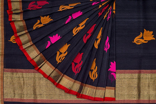 Shreenivas silks tussar silk saree PSSR011248