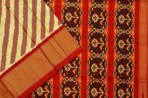 Indo fabric pochampalli silk saree PSIF060024