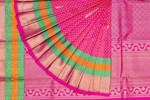 Bridal Kanjivaram silk saree SS1598