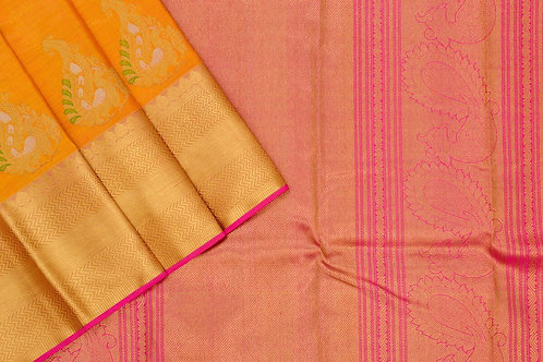 Bridal Kanjivaram silk saree SS1741