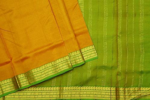 Tharakaram nine and a half yards silk saree PSTK040109