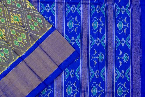 Indo fabric pochampalli silk saree PSIF060047