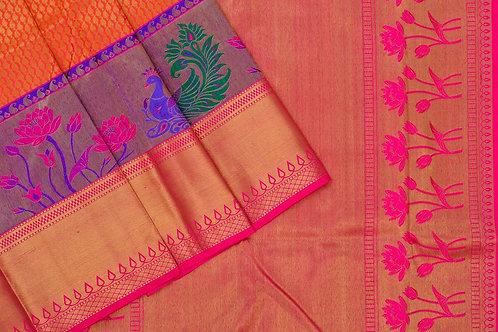Bridal Kanjivaram silk saree SS1723