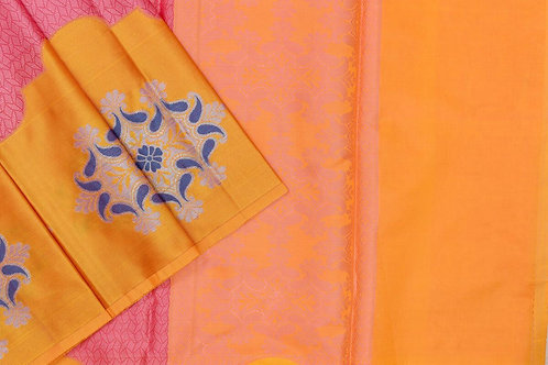 Blended cotton saree SS2147