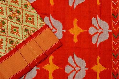 Indo fabric pochampalli silk saree PSIF060045
