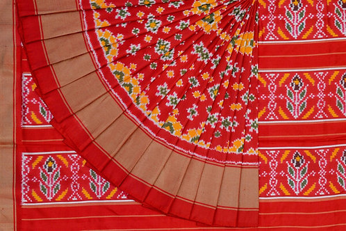 Indo fabric pochampalli silk saree PSIF060016