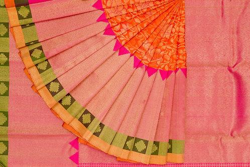 Bridal Kanjivaram silk saree SS1240