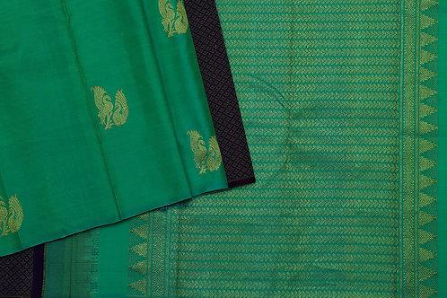 Tharakaram kanjivaram partley silk saree PSTK040036