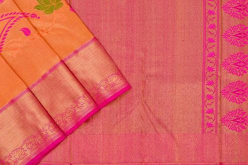Bridal Kanjivaram silk saree SS1715