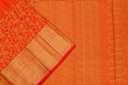 Sita mahalakshmi kanjivaram silk saree PSSM05LRAM200764