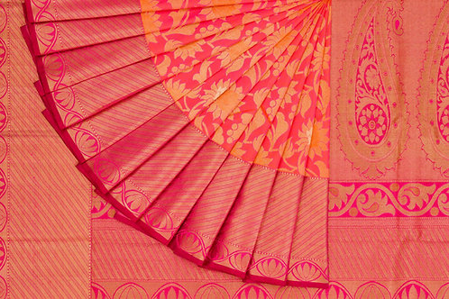 Bridal Kanjivaram silk saree SS1241