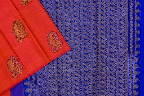 Kanjivaram silk saree SS1946
