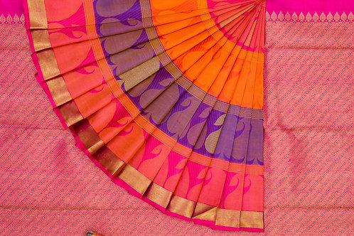 Kanjivaram silk saree SS1585