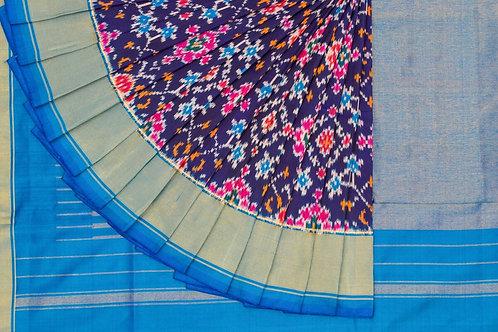 Indo fabric pochampalli silk saree PSIF060004