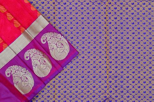 Amrith weaves creation soft silk saree PSAC090093