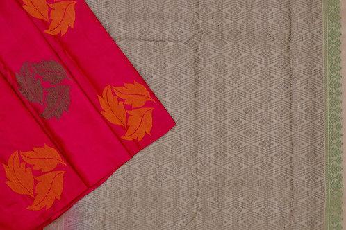 Amrith weaves creation soft silk saree PSAC090174