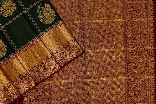 Kanjivaram silk saree SS1956