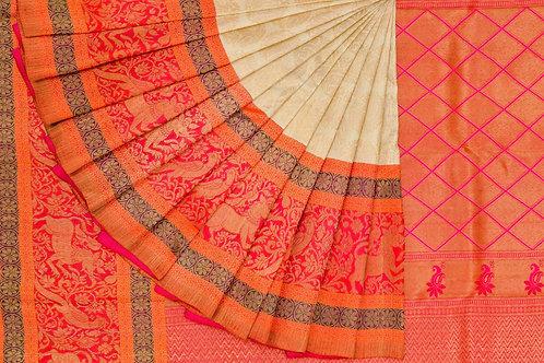 Bridal Kanjivaram silk saree SS1238