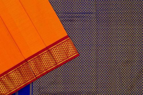 Nine yards silk saree SS1900