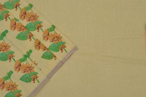 Coorv designs linen saree PSCO110021