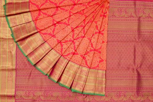 Bridal Kanjivaram silk saree SS938