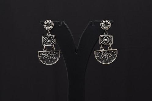 Lasya Silver Earrings LA0008
