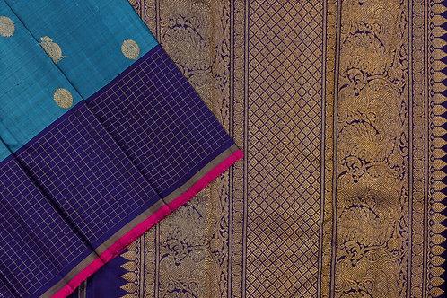 Sita mahalakshmi kanjivaram silk saree PSSM05SMLGAV201135