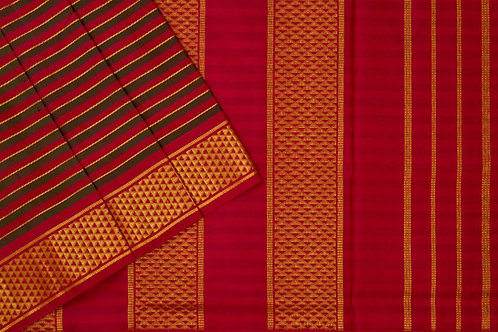 Shreenivas silks nine and a half yards silk saree PSSR011815