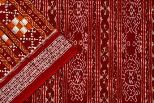 Ira Creations Sambalpuri Cotton Saree PSIC12IRA16