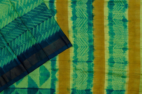 Mura Shibori Kanjivaram silk saree PSMR170028