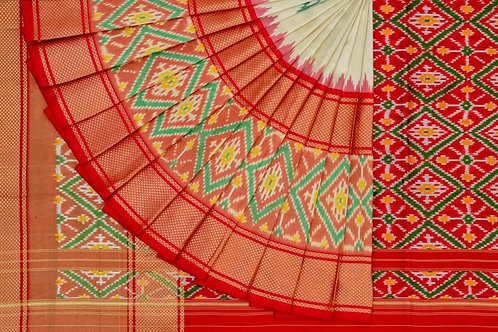 Indo fabric pochampalli silk saree PSIF060002