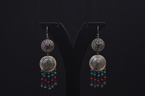 Alankrita Silver Earrings PSAL1045