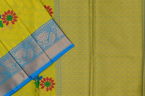 Blended cotton saree SS2158