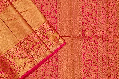 Bridal Kanjivaram silk saree SS1734