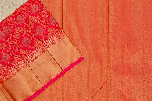 Bridal Kanjivaram silk saree SS1718