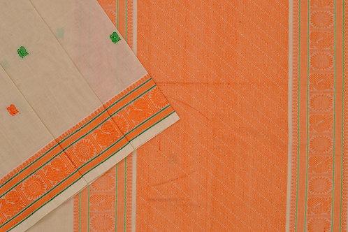 Shreenivas silks hand loom cotton saree PSSR011923