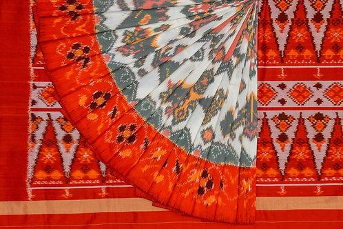 Indo fabric pochampalli silk saree PSIF060008