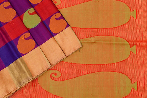 Amrith weaves creation soft silk saree PSAC090053
