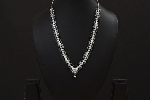 Lasya Necklace with Zircon stones LA0040