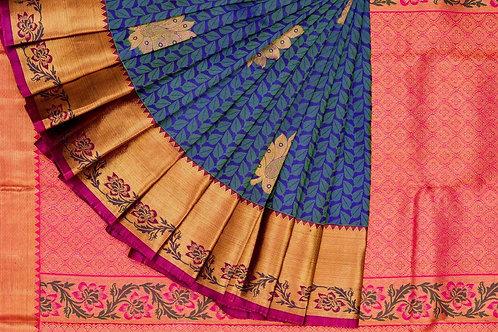 Kanjivaram silk saree SS1563