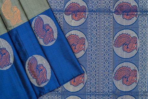 Kamal vasthralaya Soft silk saree PSKV070025