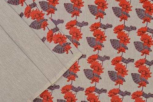 Coorv designs linen saree PSCO110020