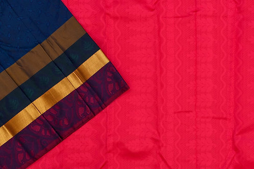 Blended silk saree SS2049