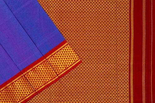 Nine yards silk saree SS1794