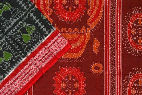 Ira Creations Sambalpuri Cotton Saree PSIC12IRA37