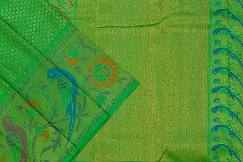 Bridal Kanjivaram silk saree SS1884