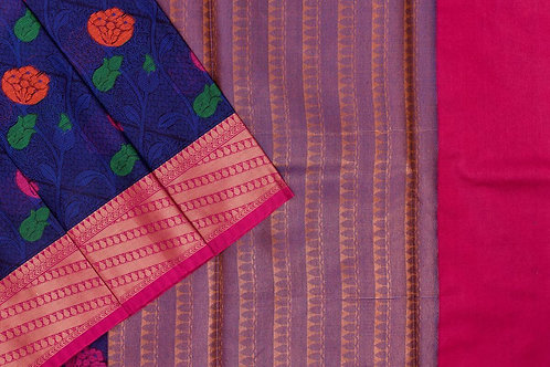 Blended cotton saree SS2148